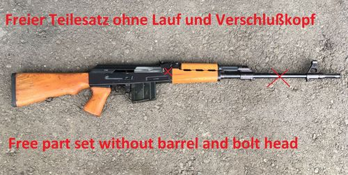 Zastava M76, free part set, without barrel + bolt