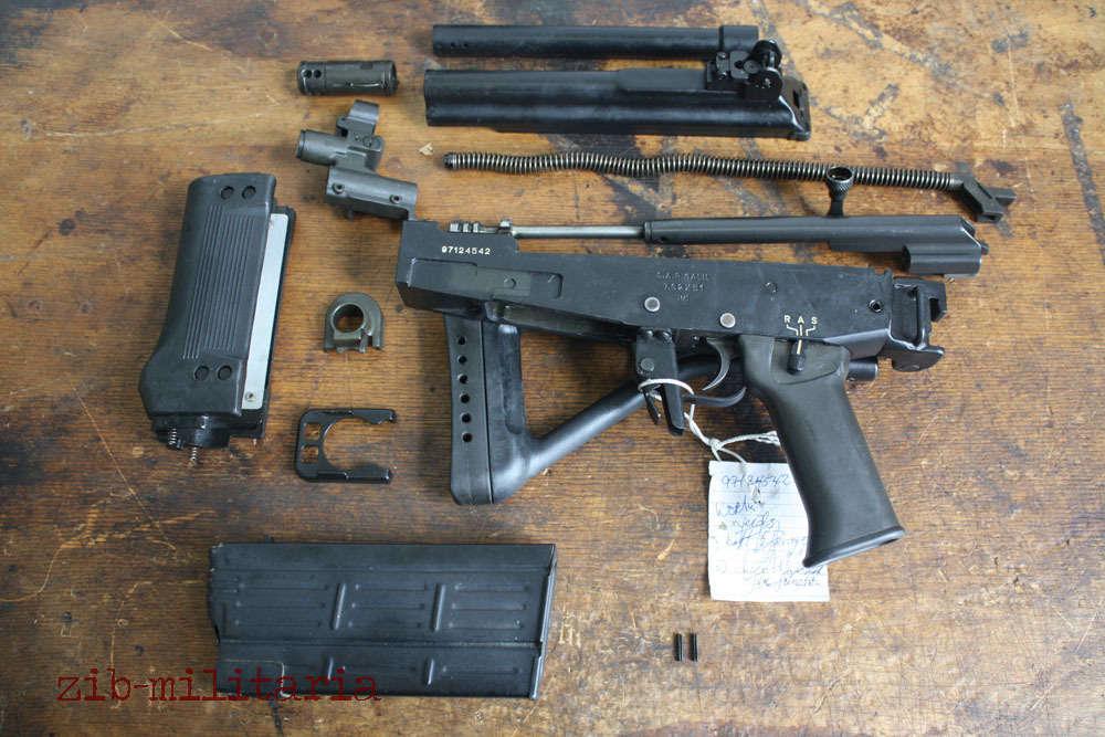Galil A R   308, free part set, without barrel + bolt sniper