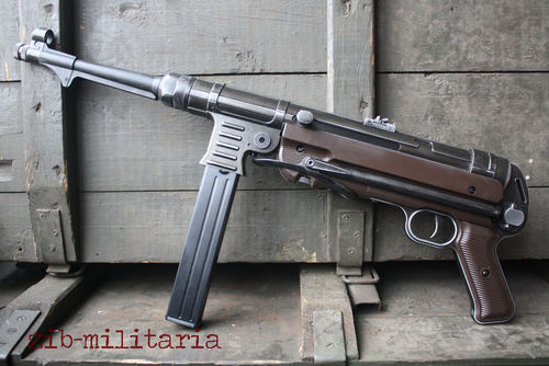 MP40 Legacy, Legends, Blow-Back, 4,5mm, inkl. Lederriemen, CO2
