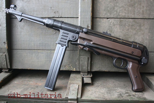 MP40, Legends, Blow-Back, 4,5mm, CO2, inkl. Lederriemen, CO2