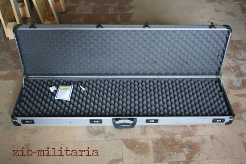 Jakob Winter Gun Case 5002, for 2 long guns, Aluminium, lockable (H&K #978153)