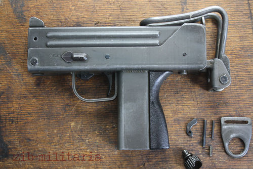 Ingram Mac 11, free part set, without barrel + bolt, clearance sale