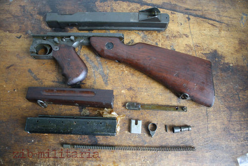 Thompson M1 / M1A1 WWII, free part set, without barrel and bolt