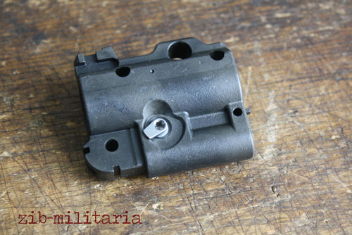 HK416 adjustable Gasblock, empty, incl. setting lever, with bayonet mount, H&K