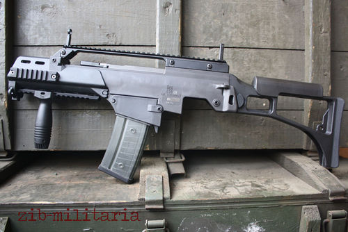 G36 H&K, version CV, rail, free part set, without barrel + bolt + grip unit