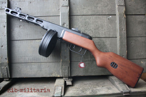 PPSH41 MP, Steel/Wood, Snow Wolf, AEG Airsoft, 0,5 Joule