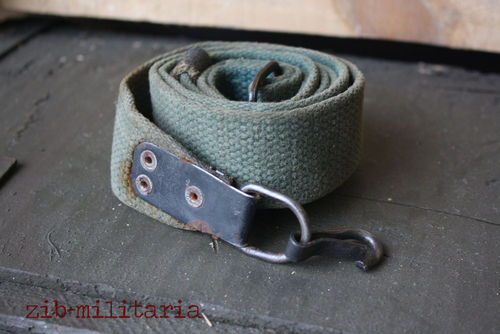 AK47 canvas sling green, used, from Balkan lot