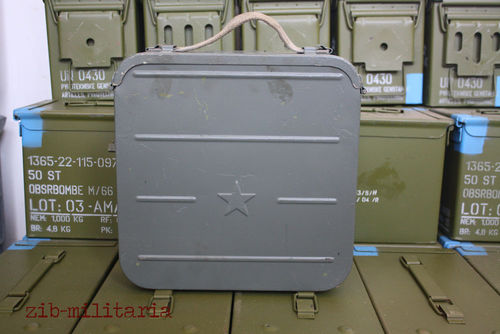 Ammo crate with belts for PKM / PK MG, Red Army