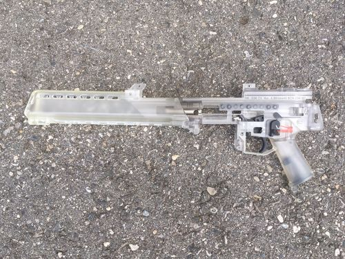 Schulungsmodell G36, transparent, H&K