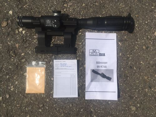 ZRAK Scope for M76 Sniper rifle, with mount, original and new