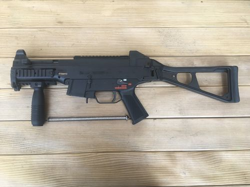 UMP H&K,  free part set, without barrel + bolt