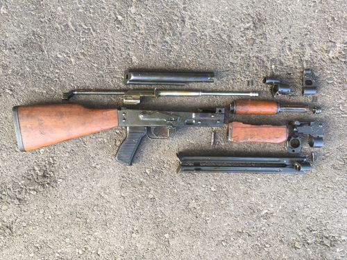 RPK / M72 as AKM, free part set, without barrel + bolt
