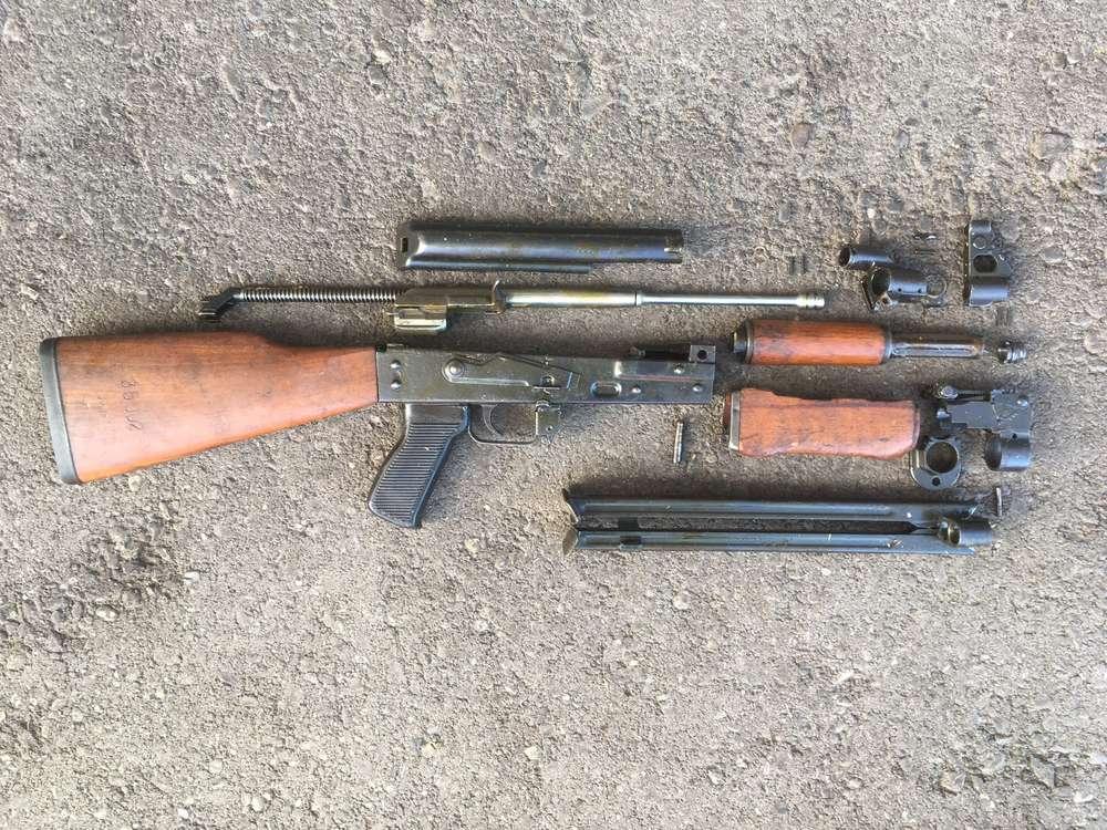 RPK / M72 as AKM, free part set, without barrel + bolt