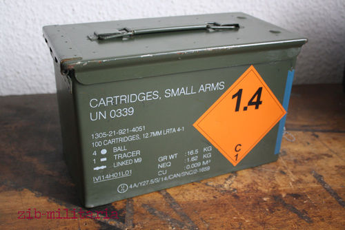 Ammo crate .50 cal, good to very good, sale