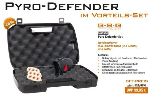 Special Offer Set!!! Pyro Defender, Alarm Flash Bang Devise