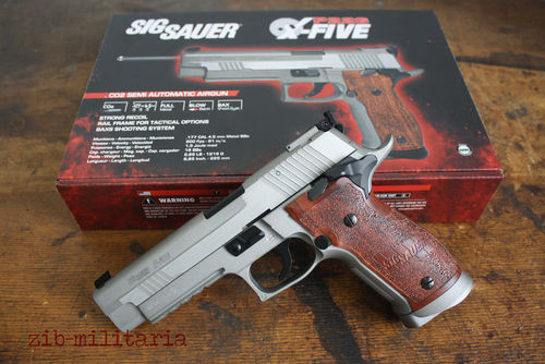 SigSauer P226 X-Five, fullmetal Blow-Back, Swiss Arms, 4,5mm / .177, CO2