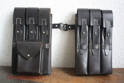 WH mag pouches MP40, LEATHER