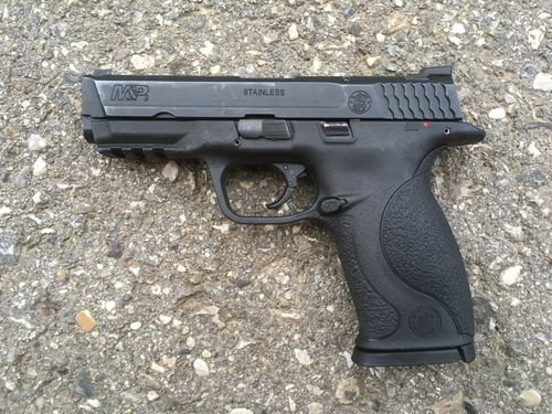 Smith and Wesson M&P9, deactivated pistol