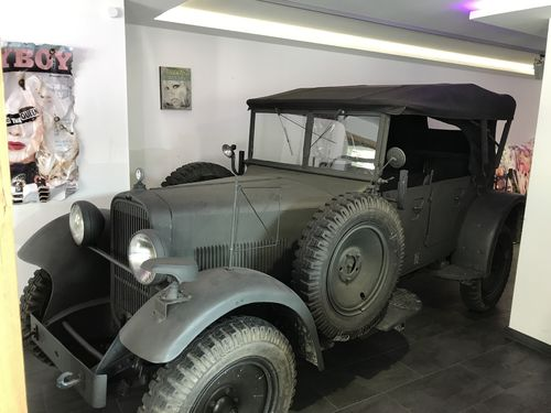 Wanderer W11/3L, BJ 1939, vehicle of the RF-SS, Chasis #29201