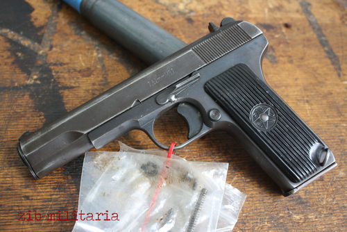 Zastava M57 as Tokarev TT33, deactivated pistol, VERY LAST PIECE