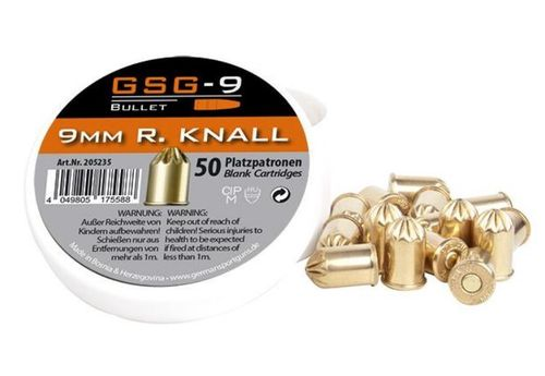GSG-9, 9mm R Blanks, revolver, 50shots, special offer, NO SHIPPING ONLY PICKUP