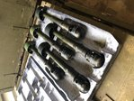 Set 5x Deko AK47 Gewehrgranate HE, Armee VE, Display / Trainingsmodell