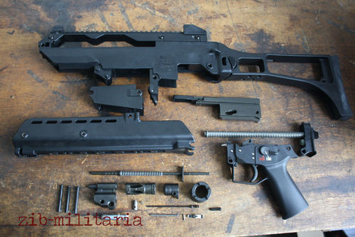 G36 H&K, version VE, free part set, without barrel + bolt, S-E Lower