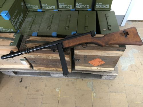 Suomi KP31 SJR WWII, free part set, without barrel + bolt