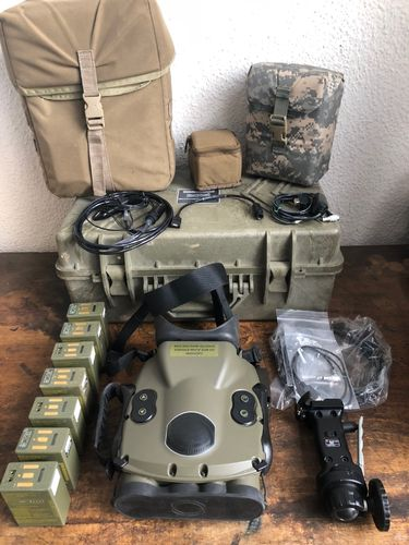 Long Range Thermal Video (LRTV) Kit, Vectronix Thermaloptic, US Army, complete Set