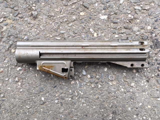 G3 receiver flat, welded, with backsight base, H&K