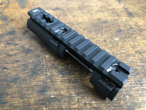 MP5 Picatinny mounting rail, H&K