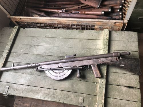 Deko Chauchat / Fusil Mitrailleur Modèle 1915, french Mg from WWI