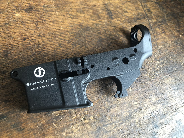 AR-15 lower, empty, semi-auto, Schmeisser Germany made