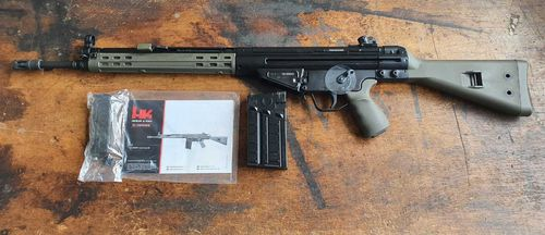 H&K G3 Airsoft, Blow-Back, 6mm BB, Gas