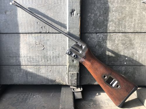 H&K G3 butt stock wood, complete