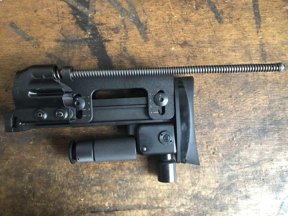 H&K PSG1 / G3 butt stock sniper rifle, mint condition, version 2