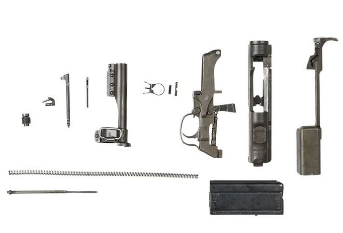 M1 Carbine bayonet holder, WWII