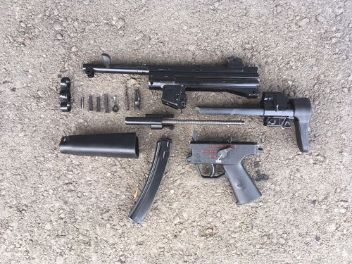 MP5, free part set, without barrel and bolt