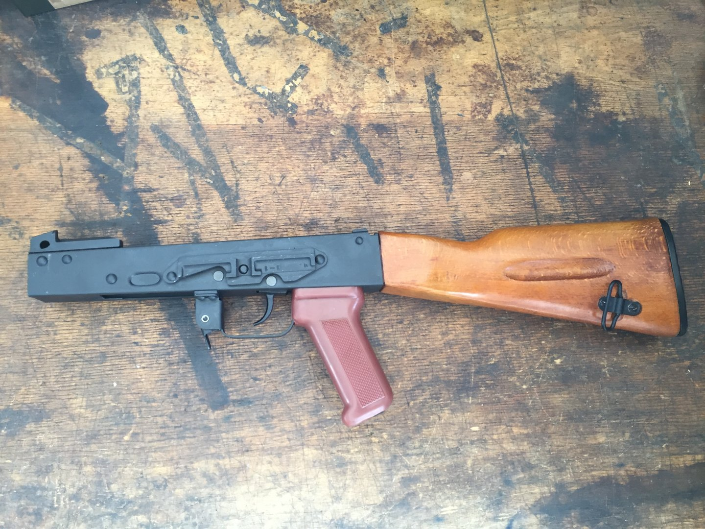 AK74 BSR/NSP (Bulgaria), free part set, without barrel + bolt