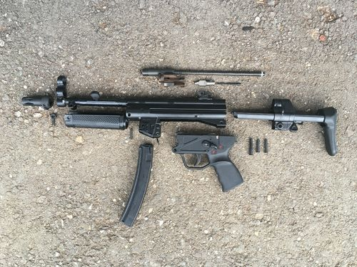 MP5-A3, free part set, without barrel and bolt