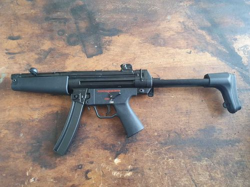 H&K MP5-N, free part set, without barrel and bolt