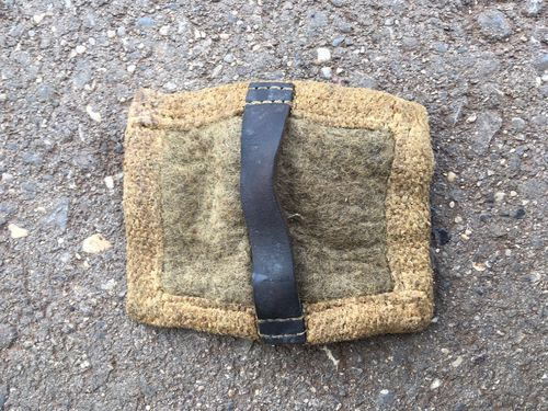 MG34 und MG42 barrel change cloth