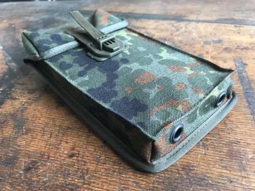 UZI H&K Mag Pouches, dot camo, without any mags