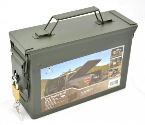 .30 cal ammo crate with lock, US Typ