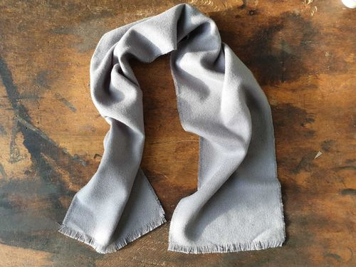 NVA wool scarf, Grey