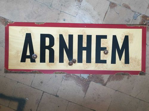 Road Sign Arnheim 1944
