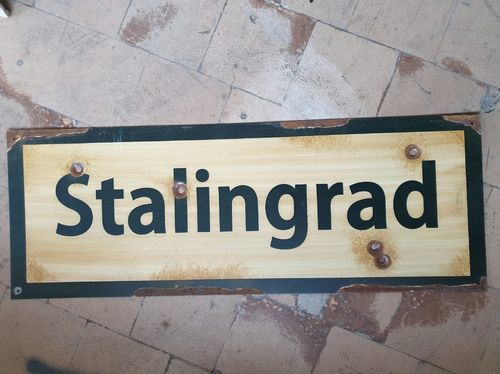 Road Sign Stalingrad 1942-43