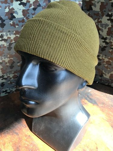 US WWII OD Green Watch Cap