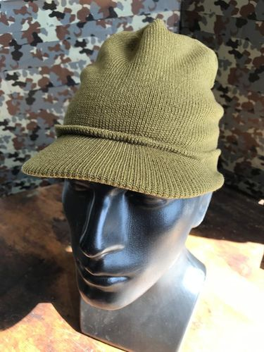 US WWII OD Green Jeep Hat