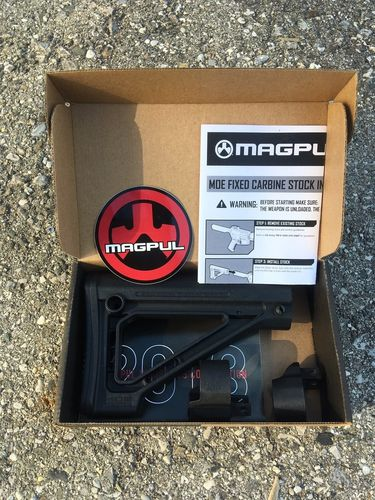 AR15 MOE SL® Fixed Carbine Stock, Magpul, black